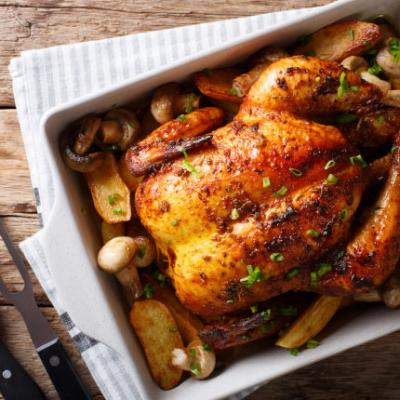 Beautiful Roast Chicken